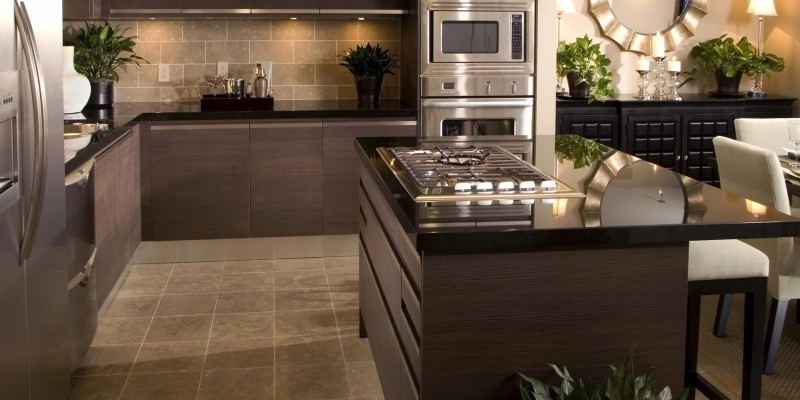 Our work - Worktop fitters Contemporary kitchen