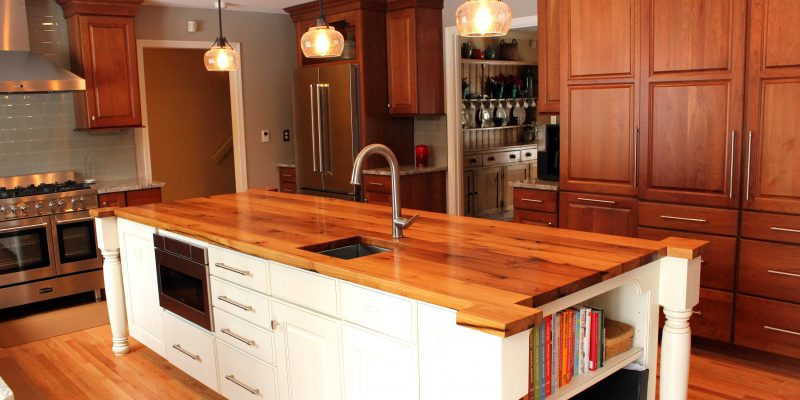 Solid Wood Kitchen Worktops